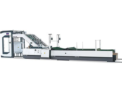High Speed Automatic Flute Laminating Machine