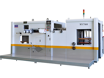 MY-760 Automatic Die Cutting and Creasing Machine