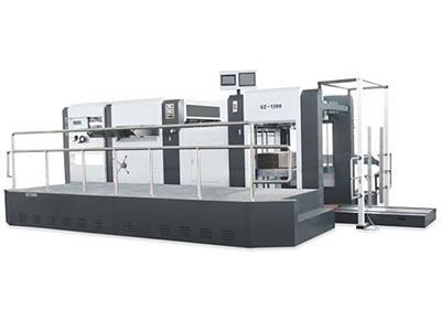 Automatic Die Cutting and Creasing Machine (Manual-Automatic Feeder with Stripping Unit)